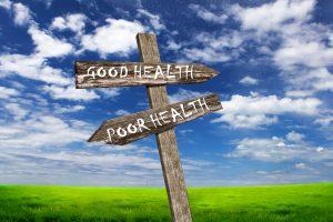Good health poor health